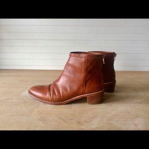 Loeffler Randall Felix ankle boots cognac 6.5